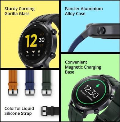 سعر و مميزات و مواصفات ساعة ريلمي واتش اس الذكية Realme Watch S