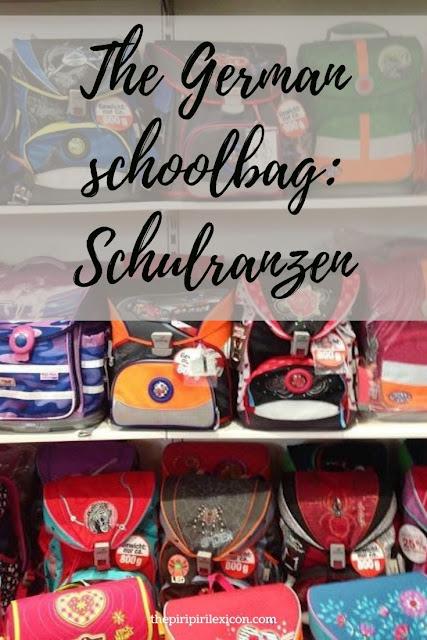 Schulranzen: the German school bag