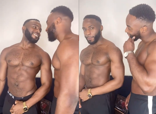 Watch the moment Doyin Okupe kisses his Boyfriend (Video)