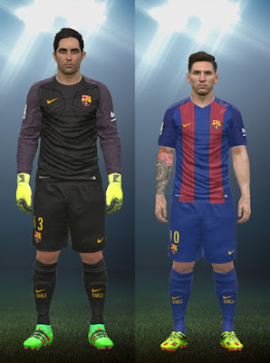 Barcelona FC 16/17 Kits