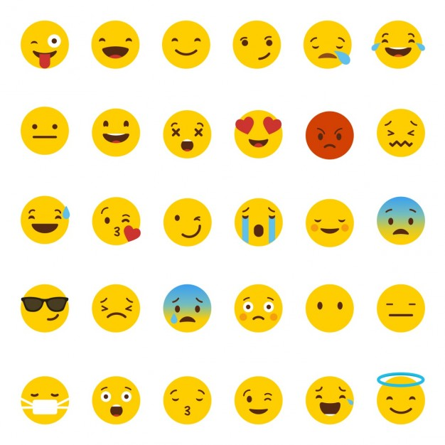 Whatsapp emoji Free Vector