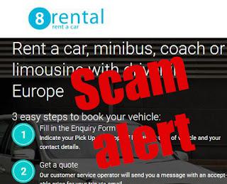 8rental.com scam website