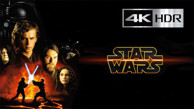 Star wars: Episodio III – La venganza de los sith (2005) REMUX 4K UHD [HDR] Latino-Castellano-Ingles
