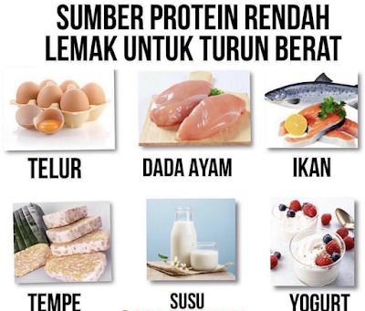 Sumber Protein Rendah Lemak Untuk Turun Berat
