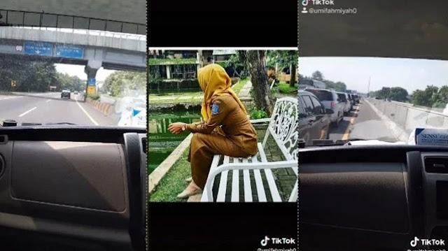 Viral Video Istri Kejar Suami Bawa Pelakor ke Bandung