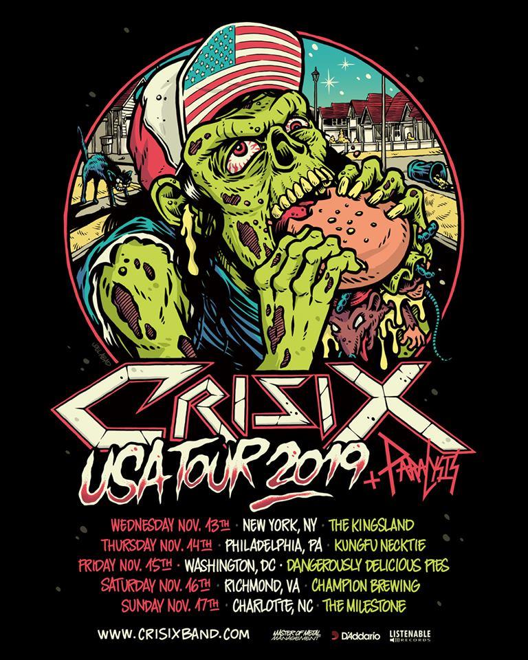 Crisix USA Tour 2019
