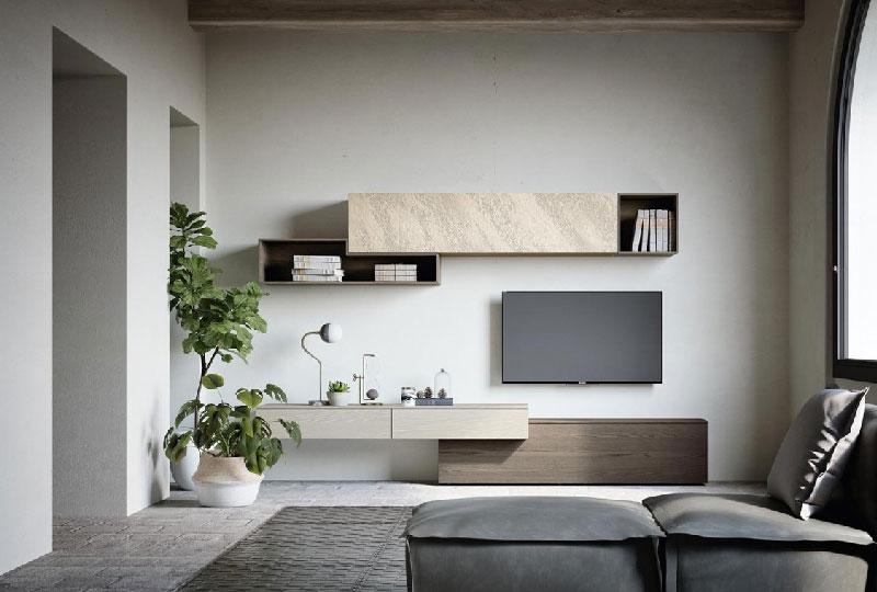 parete attrezzata moderna