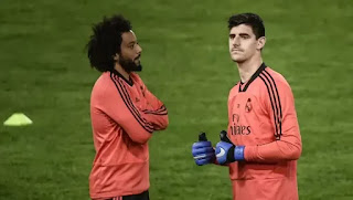 BREAKING: Marcelo & Courtois both suffer muscle injury ahead of Man City tie