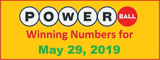 PowerBall Winning Numbers for Wednesday, May 29, 2019