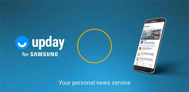 تحميل تطبيق upday news for Samsung تطبيق أخبار مخصص لهواتف Samsung Galaxy