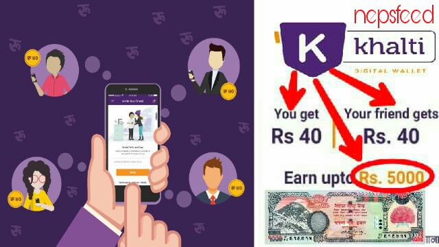 SIGNUP AND EARN MONEY FROM KHALTI APPS