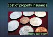 what are the costs of property insurance
