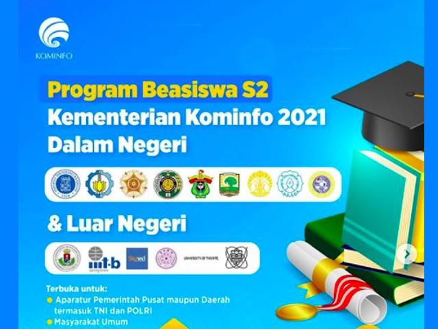 Ini Persyaratan Beasiswa S2 Dalam Negeri dan Luar Negeri dari Kominfo untuk PNS, TNI-Polri, dan Umum
