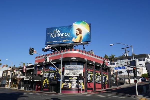 Life Sentence CW billboard