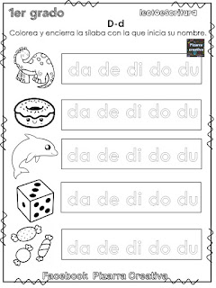 Silabarios para aprender a leer