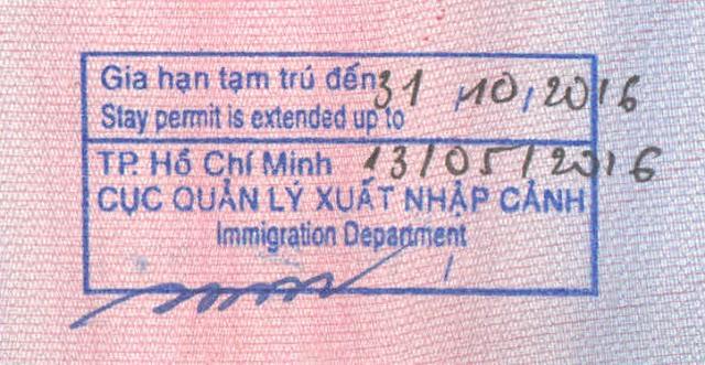 Vietnam visa extension services in Vietnam