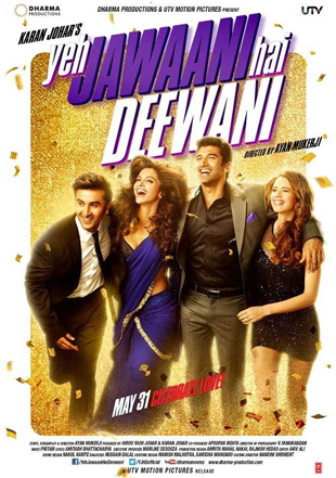 Yeh Jawani Hai Deewani 2013 Full Hindi Movie Download BRRip 720p ESub