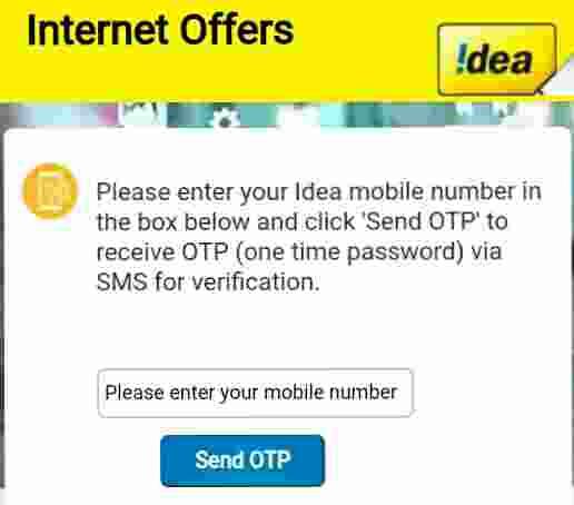 Idea 30Gb Free Internet Trick 2 100% Working 2019