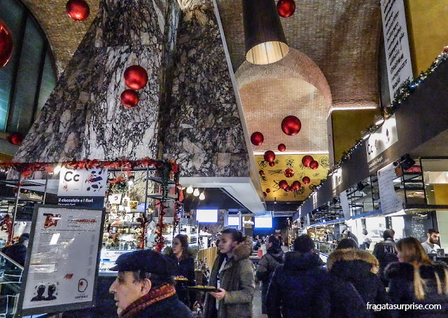 Cappa Mazzoniana, Mercado Central de Termini, Roma