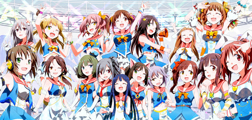 Download The iDOLM@STER Cinderella Girls BD Subtitle Indonesia