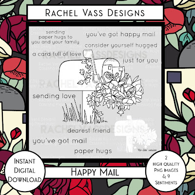 Rachel Vass Designs - Happy Mail