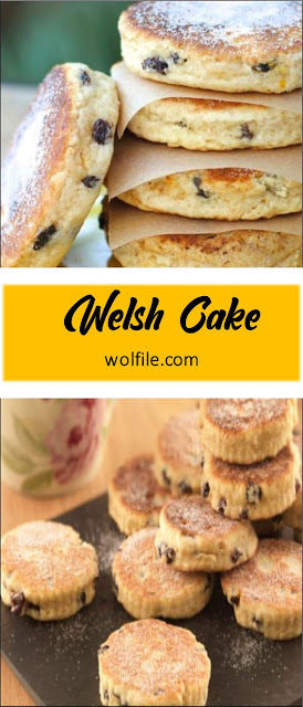 Welsh Cake Recipe #Cake #Muffin