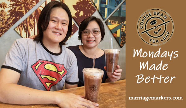 CBTL Bacolod - Mondays Made Better - Bacolod blogger - coffee date - reusable tumbler- coffee lovers - double chocolate ice blended - Bacolod restaurants - Bacolod cafe - marriage markers