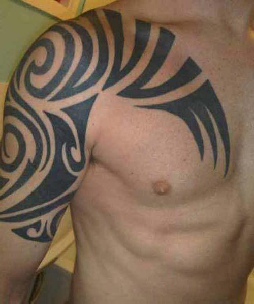 erkek tribal dövmeler man tribal tattoos 12