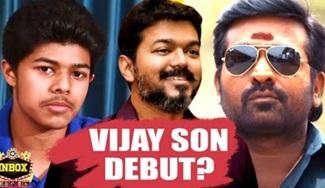 Vijay's Son Jason Sanjay First film with Vijay Sethupathi?   inbox