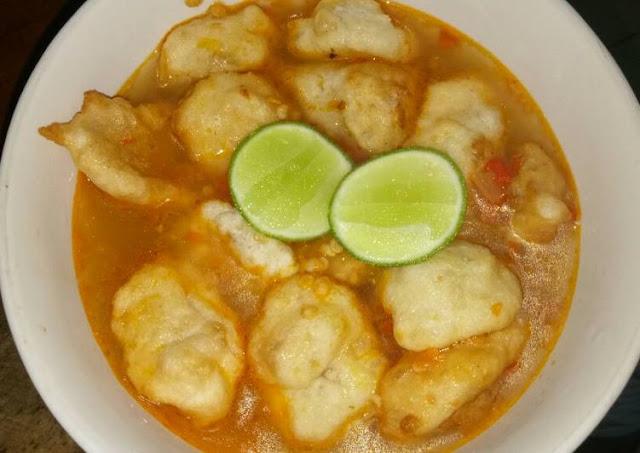 Resep Cireng Banyur Kuah Pedas