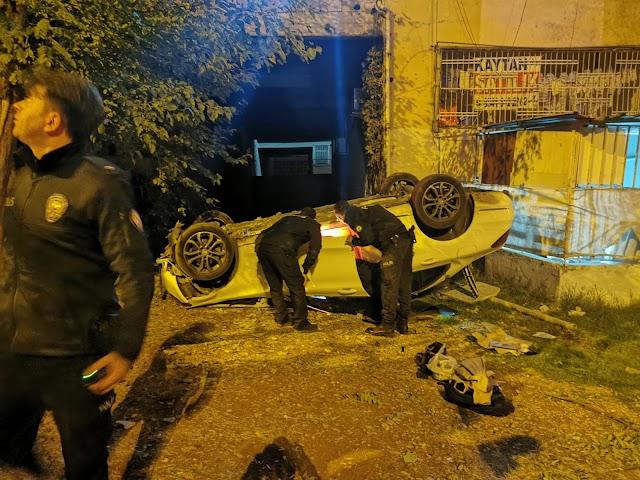 Urfa'da feci kaza: 5 yaralı