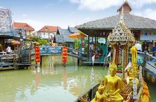 Floating Market Pattaya | Paket Tour Murah ke Thailand 2013