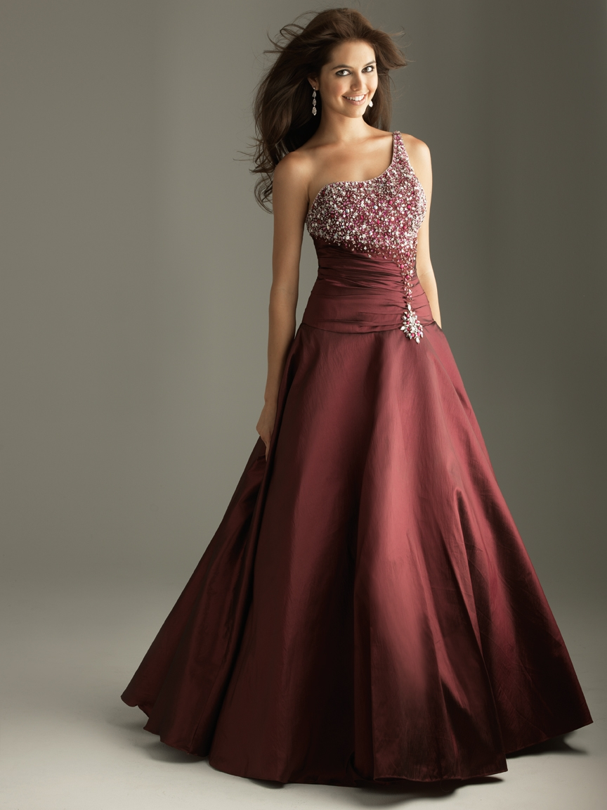 Women party dress design 2011 modest prom dress patterns