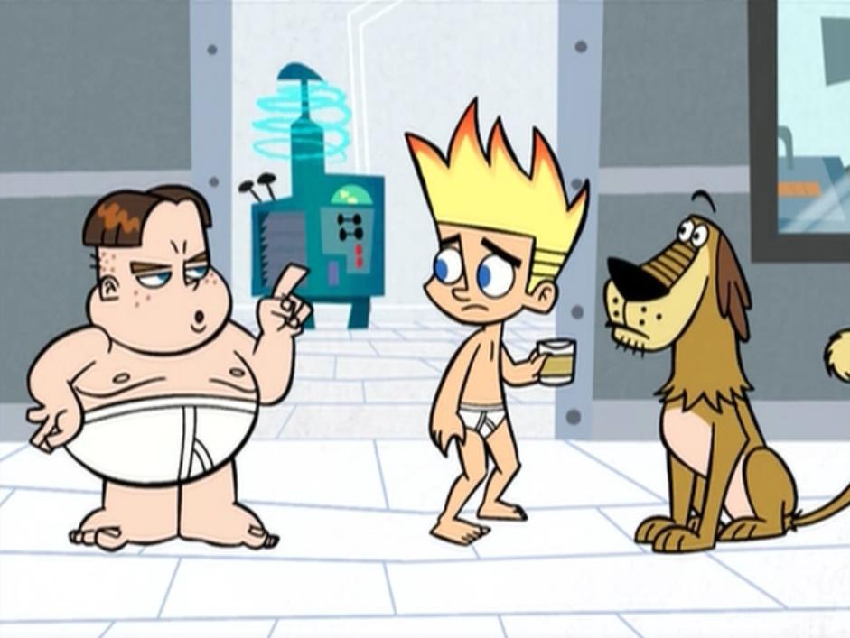 Johnny in his underwear 2