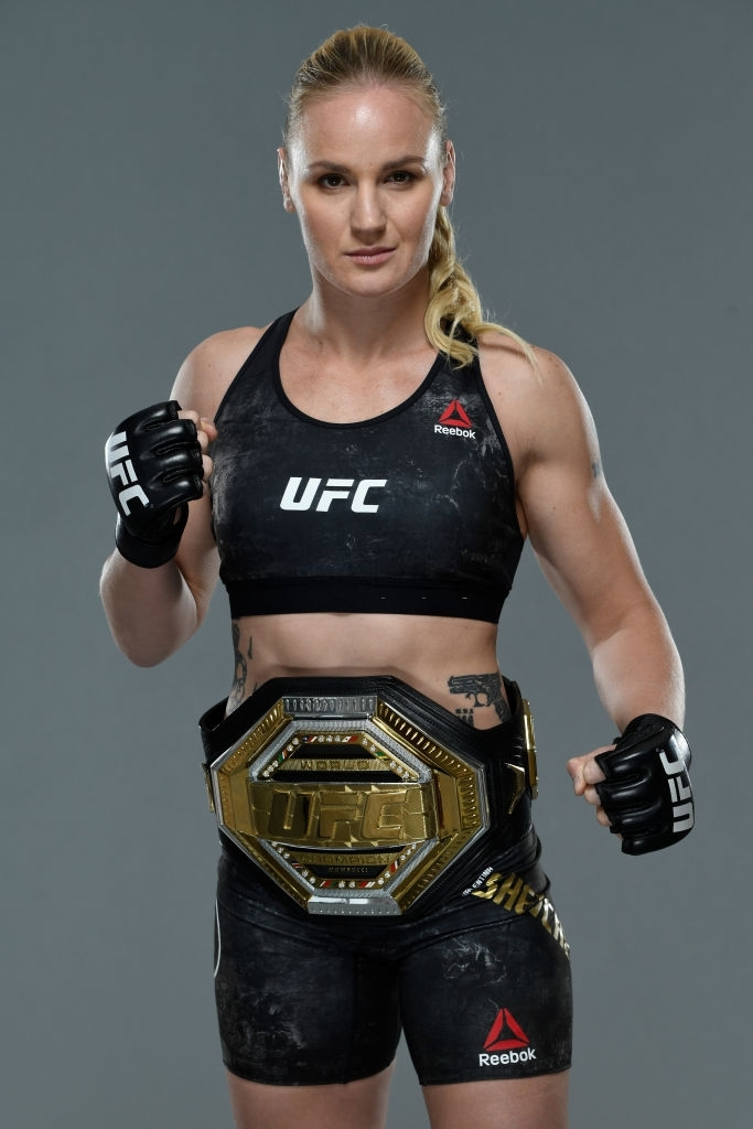 ufc fighters female