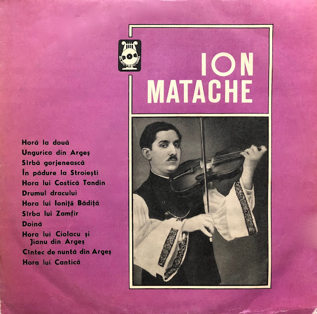 violin Ion Matache Traditional Romanian Music Musique Roumaine Traditionnelle