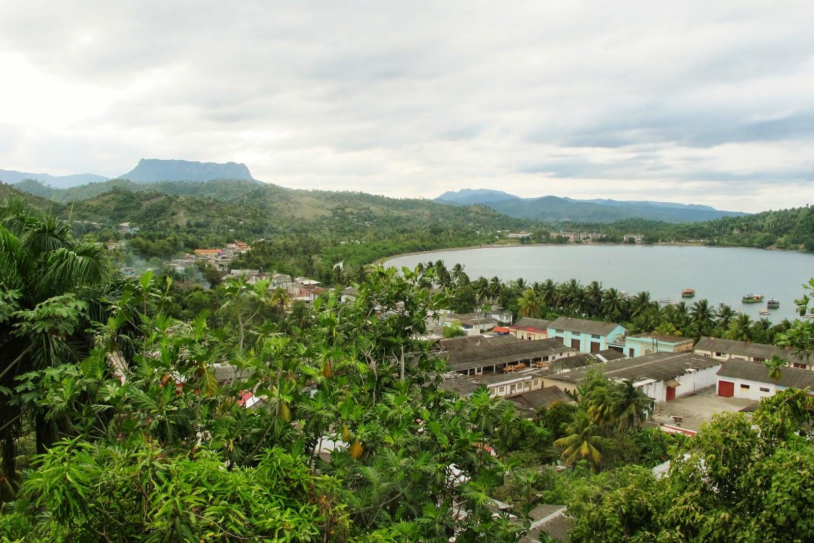 Baía de Baracoa, em Cuba