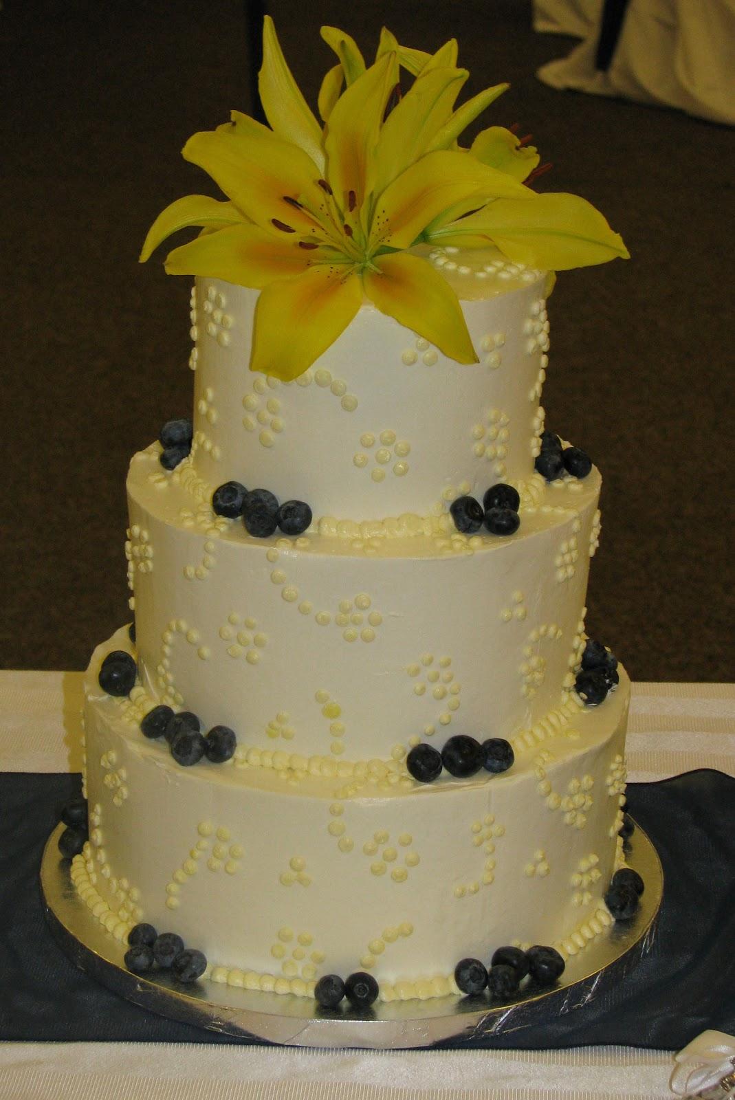 Bake me a Cake!: Lemon Blueberry Wedding Cake