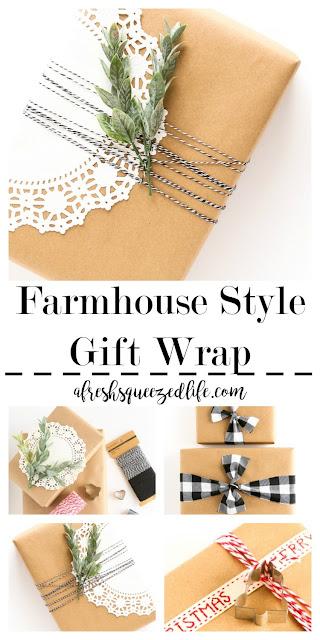 farmhouse-style-gift-wrap ideas
