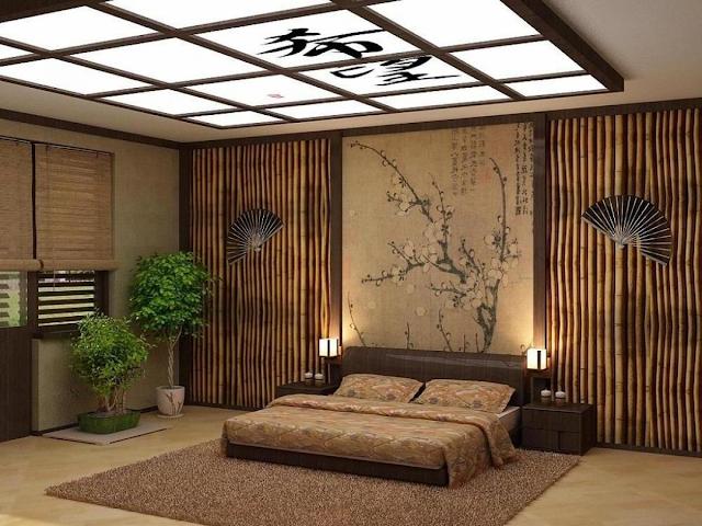 Sử dụng chất liệu tre, gỗ cho phòng ngủ