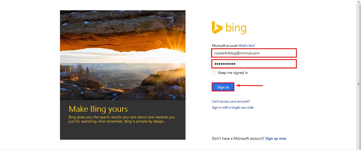 Cara Daftar dan Verifikasi Blog Ke Bing Webmaster 2017