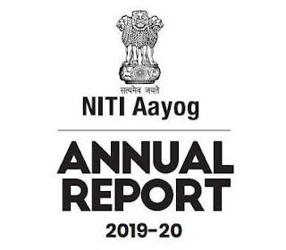 NITI Ayog Annual Report 2019-020 PDF