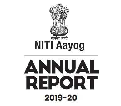 NITI Ayog Annual Report 2019-020 PDF NITI.GOV.IN