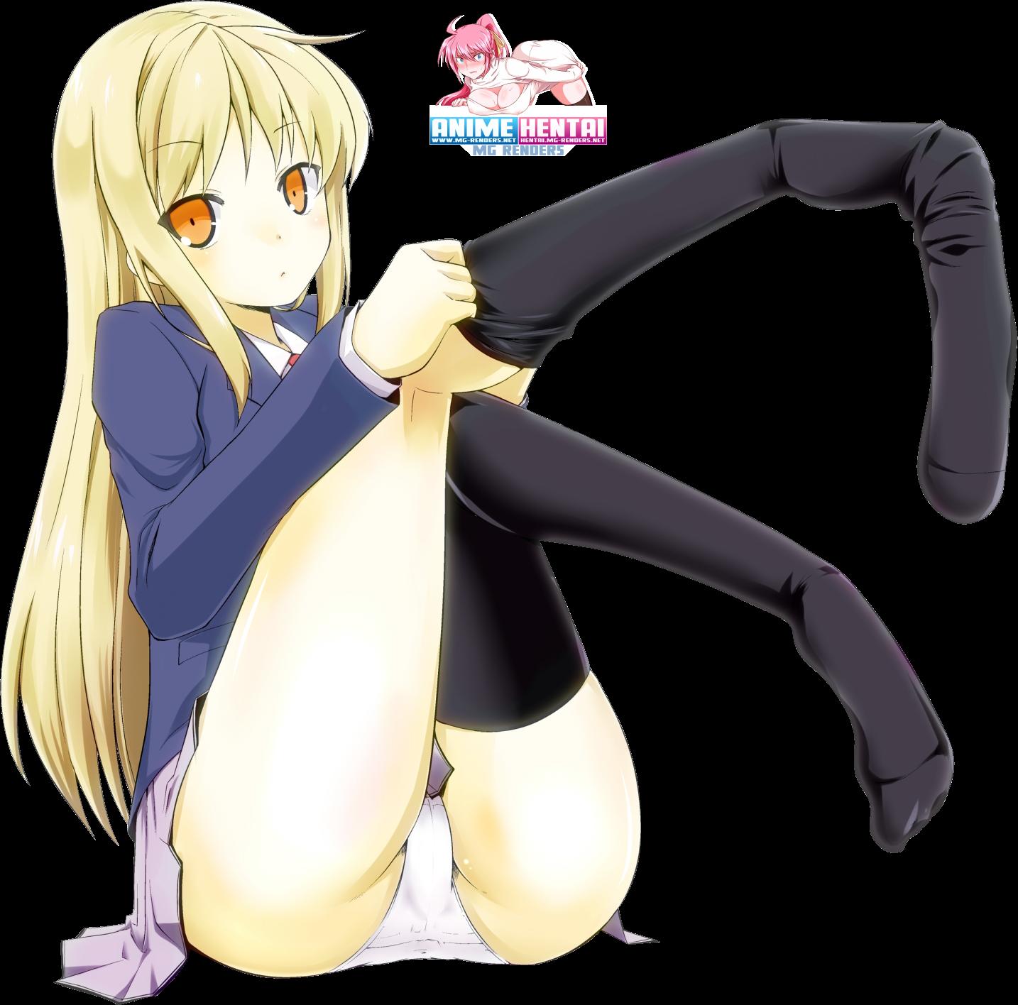 Tags: Anime, Render,  Feet,  Pantsu,  Sakurasou no Pet na Kanojo,  Shiina Mashiro,  Skirt,  Toes,  PNG, Image, Picture