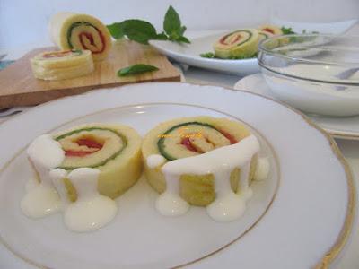 Omlet rolat