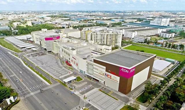 Trung tâm thương mại AEON Mall tại Dương Nội, Hà Đông.
