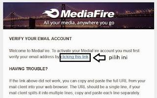 Cara Daftar Akun Di MediaFire Dengan Mudah