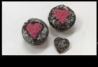 cupcakes para san valentin