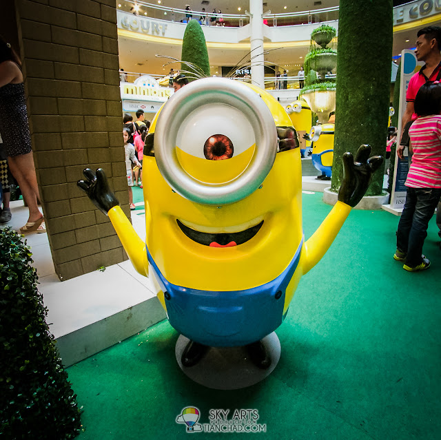 My favourite minion among all 50 minions in Mid Valley Megamall =)