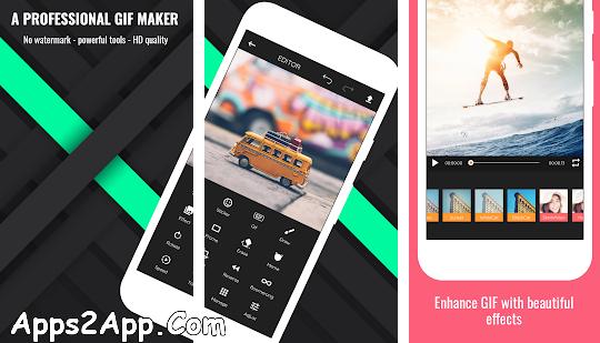 GIF Maker Pro APK - Video to GIF, GIF Editor v1.3.3 [Latest]